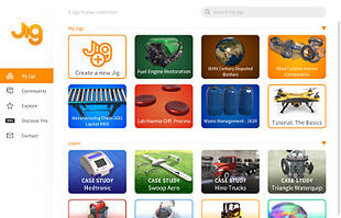 Create a free account to get started, and explore the tutorials provided